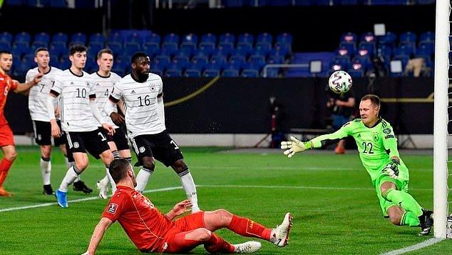 North Macedonia beat Germany sensationally.