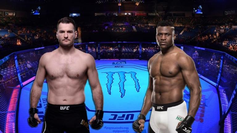 Professional fighters gave a prediction for a title fight  Stipe Miocic vs.  Francis Ngannou 2 at UFC 260