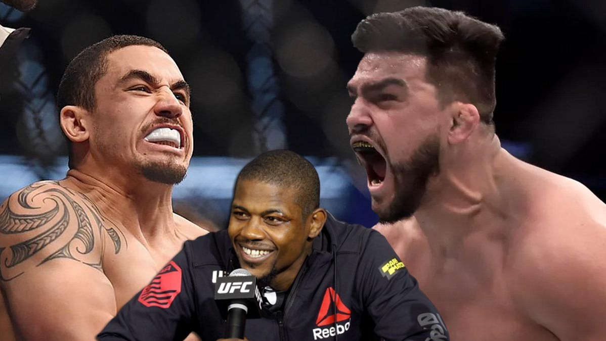 Kevin Holland criticized the UFC for the decision to fight Kelvin Gastelum with Robert Whittaker
