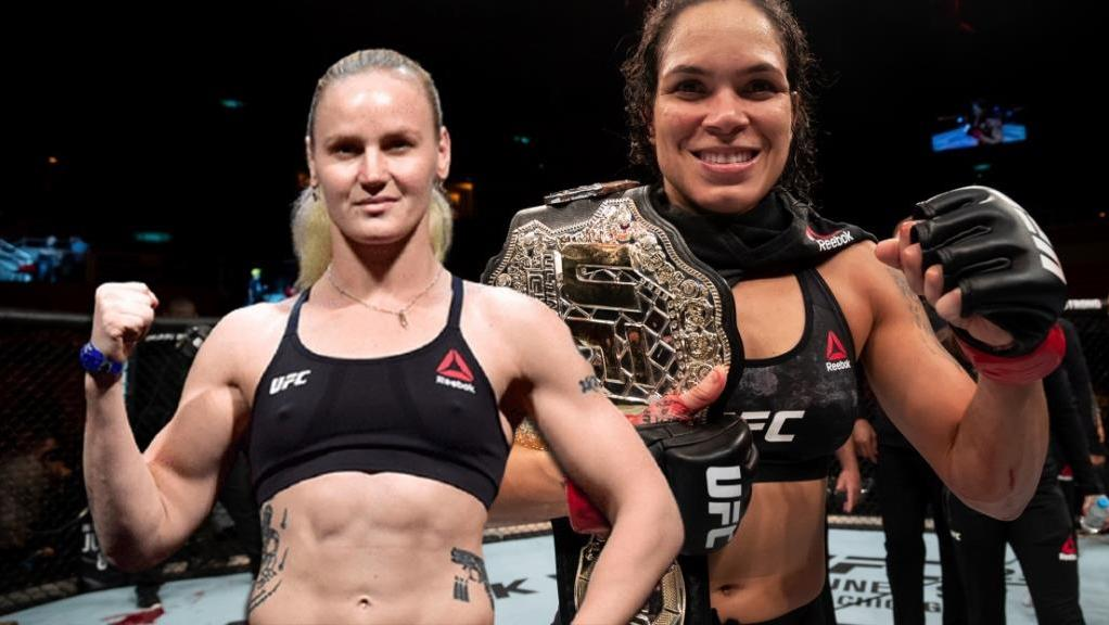 Valentina Shevchenko You won't wait for words of admiration about Amanda Nunes from me