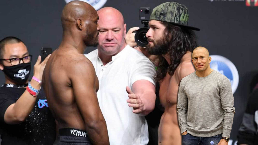 Georges St-Pierre explained how Masvidal and Usman should act in the upcoming revenge