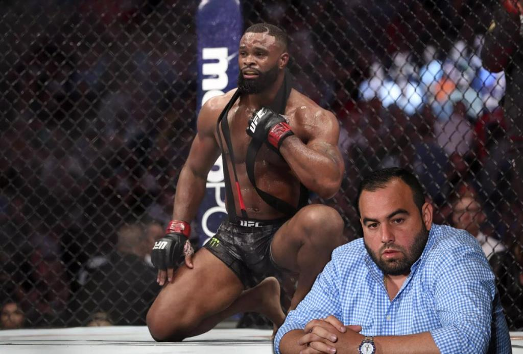 Woodley's manager has confirmed that Tyron is no longer a UFC fighter.