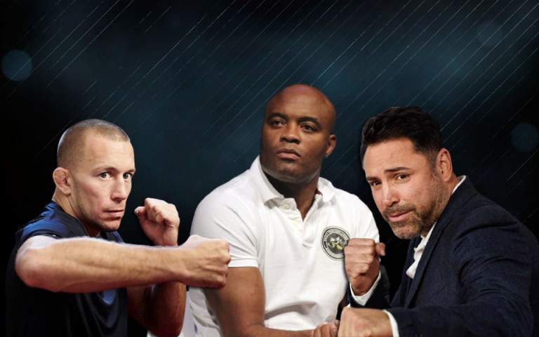 Anderson Silva does not understand why George St-Pierre is prohibited from fighting a boxing match against Oscar De La Hoya.