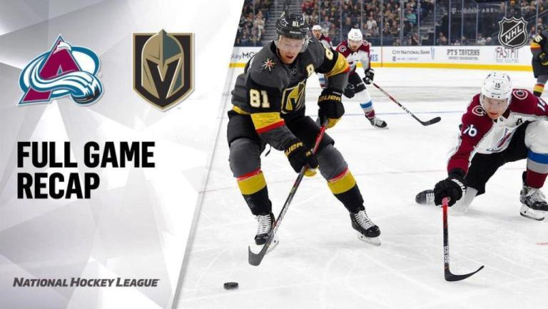 NHL Game Highlights | Avalanche vs. Golden Knights – May 10, 2021