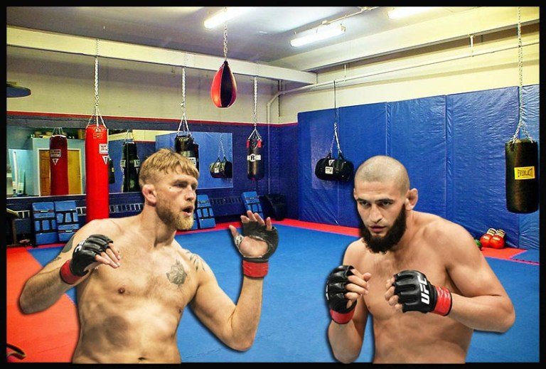 Khamzat Chimaev told about the first training session with Alexander Gustafsson