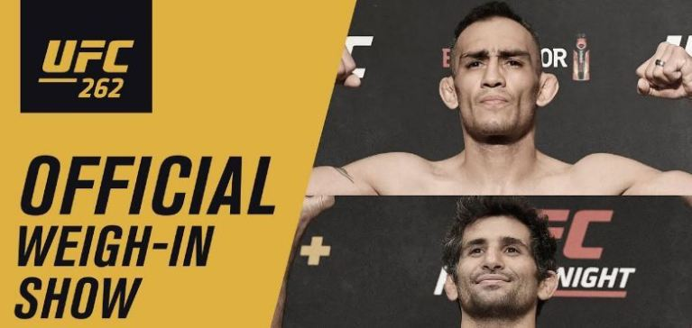 UFC 262 Weigh-in Results