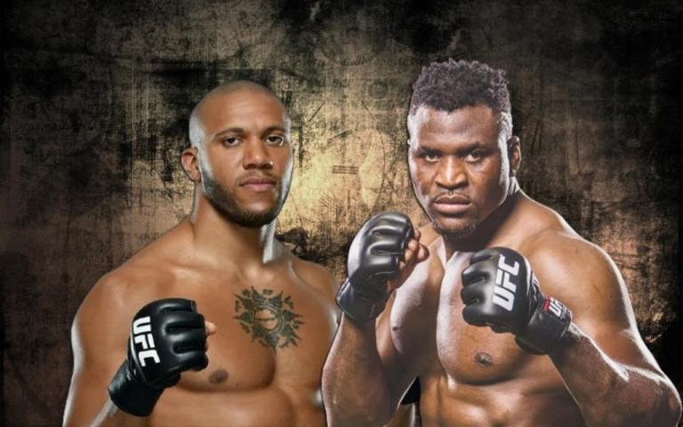 Ciryl Gane announced his readiness to fight for the UFC title with Francis Ngannou