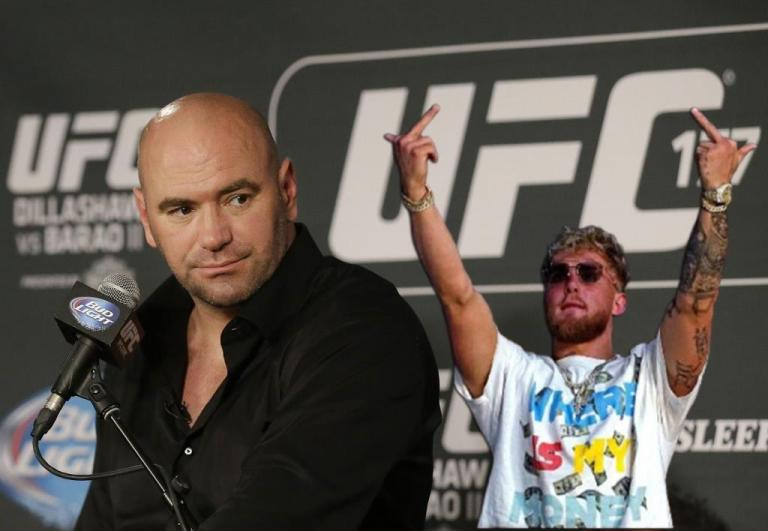 Jake Paul trashes the UFC over fighter pay