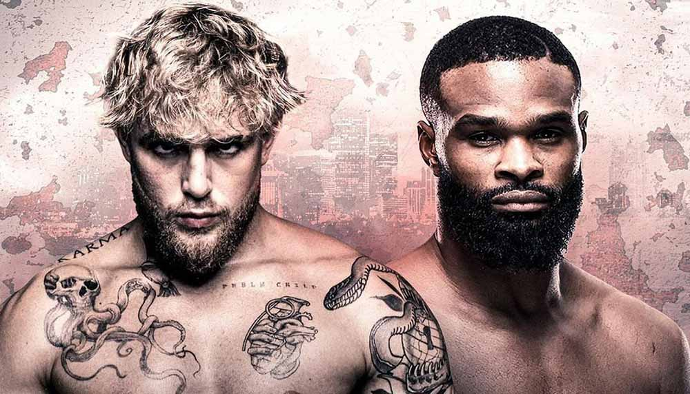 Tyron Woodley vs. Jake Paul. Paul negotiated an automatic rematch