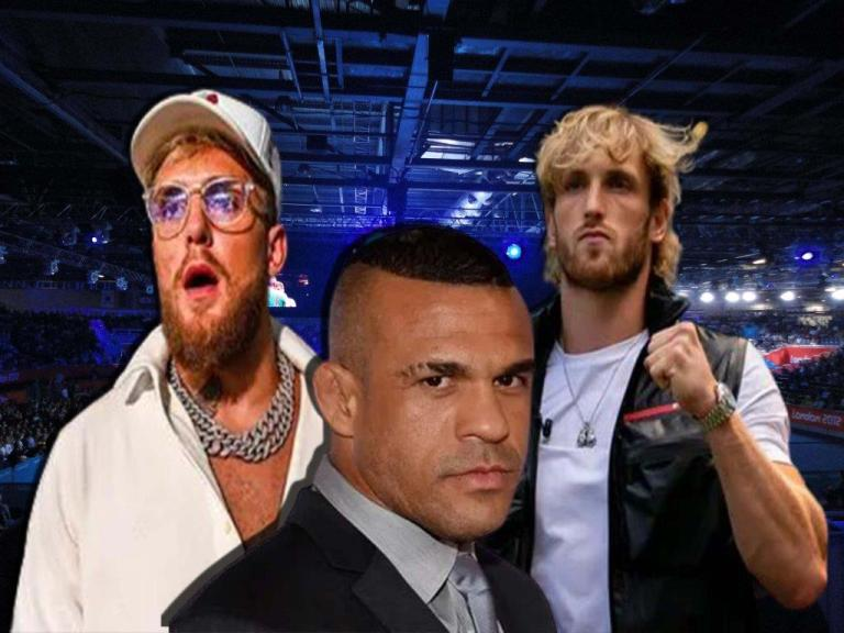 Vitor Belfort wants to fight Jake Paul and Logan Paul to boxing matches on the same night