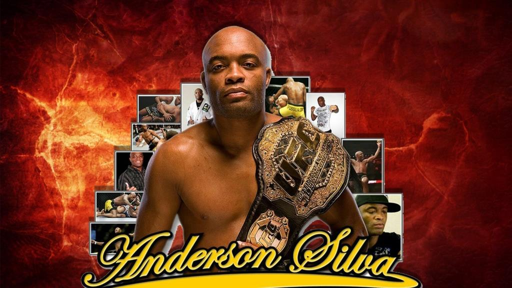 Anderson Silva, named the four greatest fighters in the history of mixed martial arts