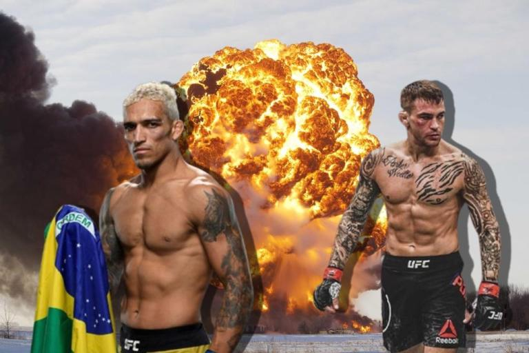 Charles Oliveira gave a forecast for the fight with Dustin Porrier.