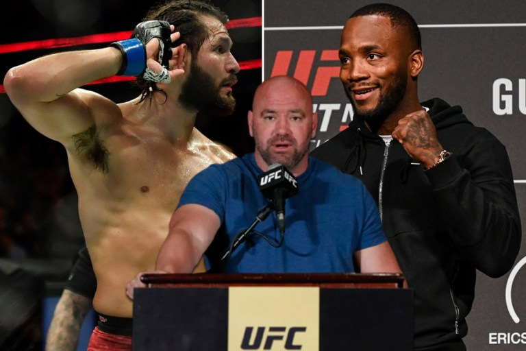 Dana White says he is interested in booking Leon Edwards vs. Jorge Masvidal