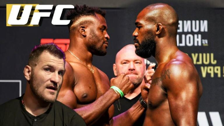 Stipe Miocic says anything can happen in Jon Jones vs Francis Ngannou fight