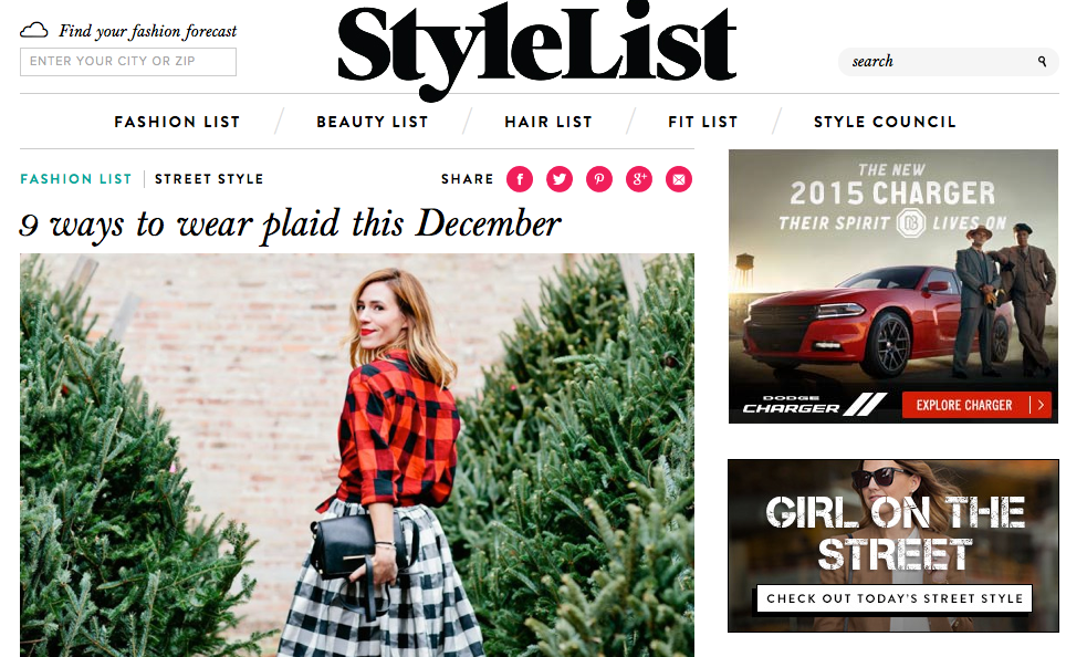 StyleList - Plaid