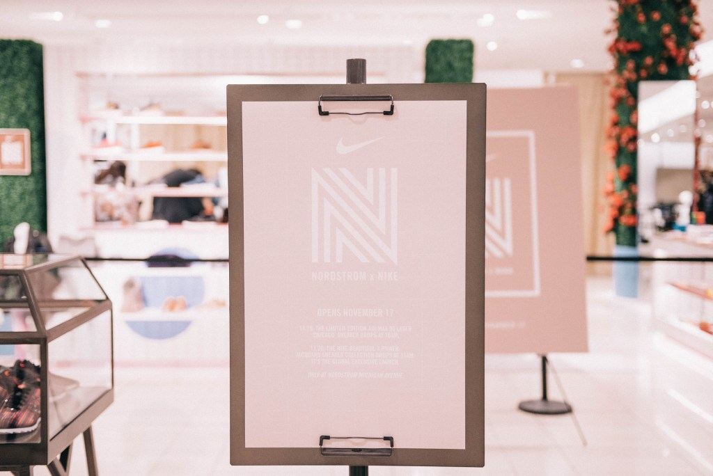 Nike x Nordstrom Chicago Concept Shop and Chicago Fashion Blogger