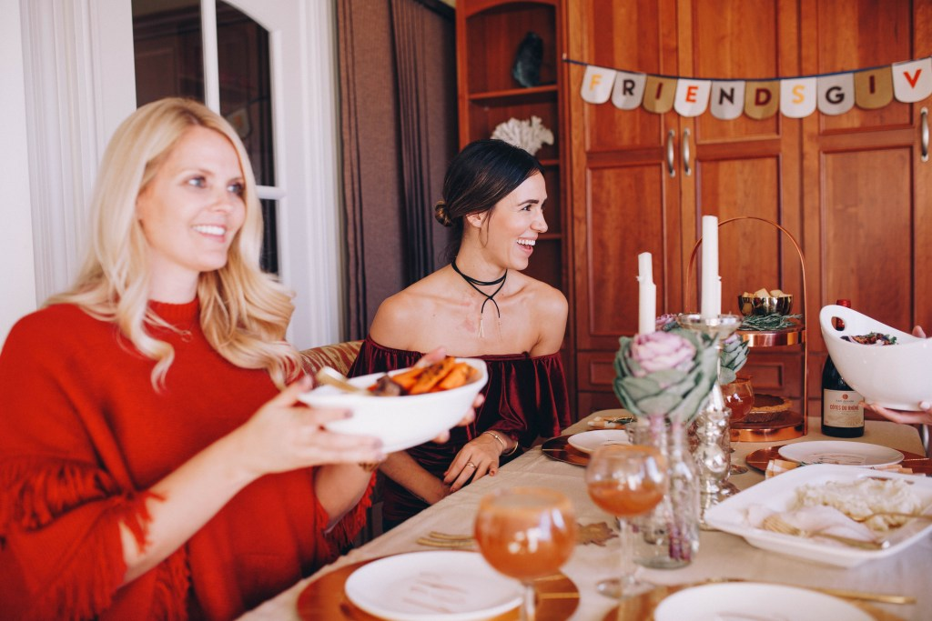 Friendsgiving and American Express Blue Cash Everyday Card