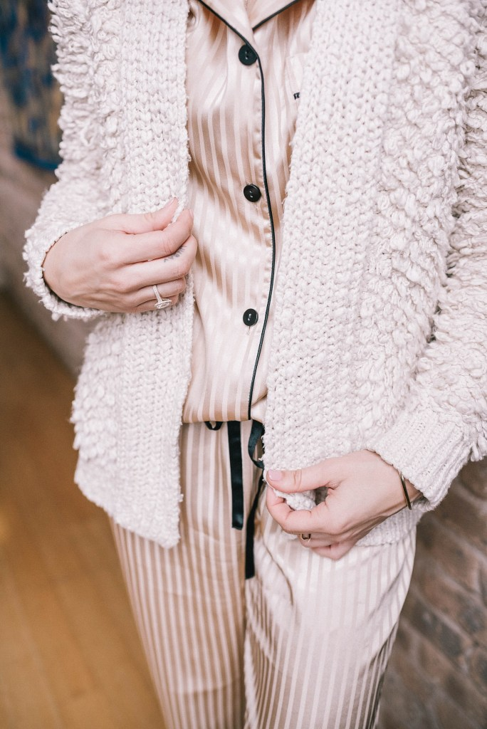 Take the stress out of the holidays with Marshalls and cozy cardigan
