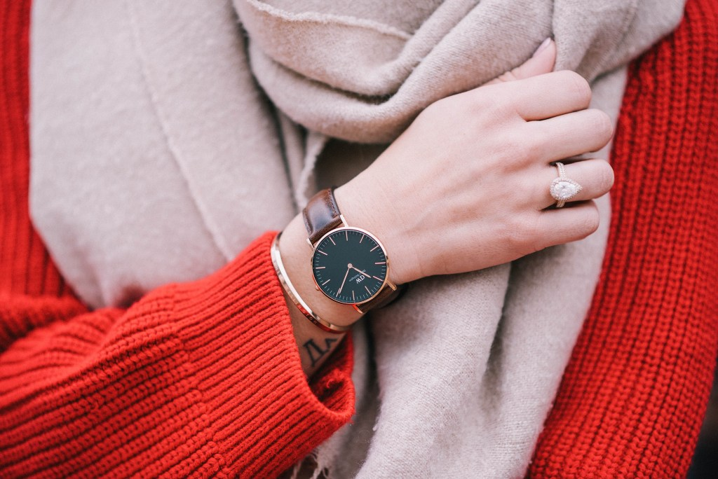 Daniel Wellington Womens Watch and Chicago Fashion Blogger