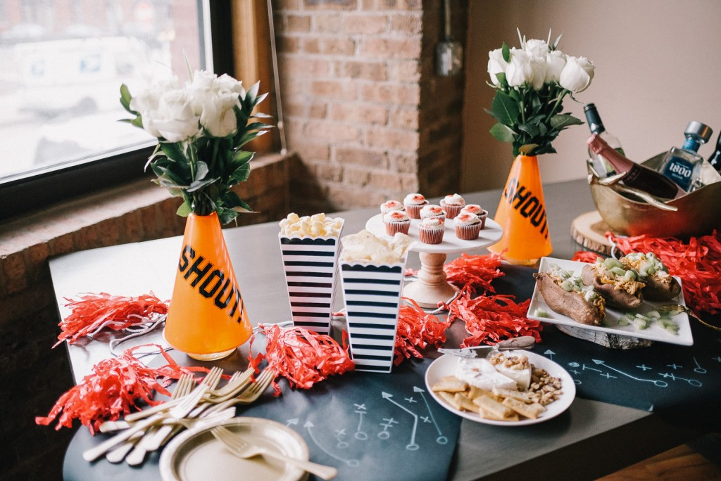 Blogger Mary Krosnjar and Super Bowl Party tips