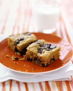 Martha Stewart Pumpkin Chocolate Chip Squares