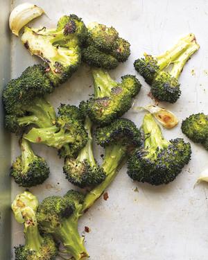 Martha Stewart Roasted Broccoli with Garlic