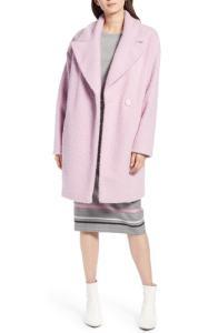 Halogen® Bouclé Coat