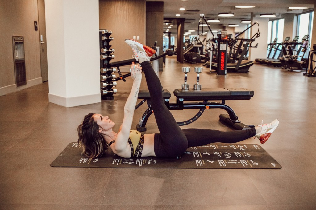 Blogger Sportsanista wearing wearing Nike Air Max 270 and My Fitness Journey