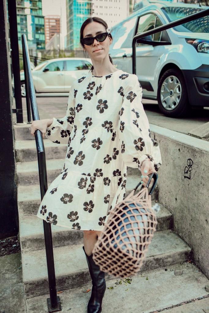 Seattle Fashion Blogger Sportsanista wearing Zara Western Boots and $10 Cat Eye Sunglasses