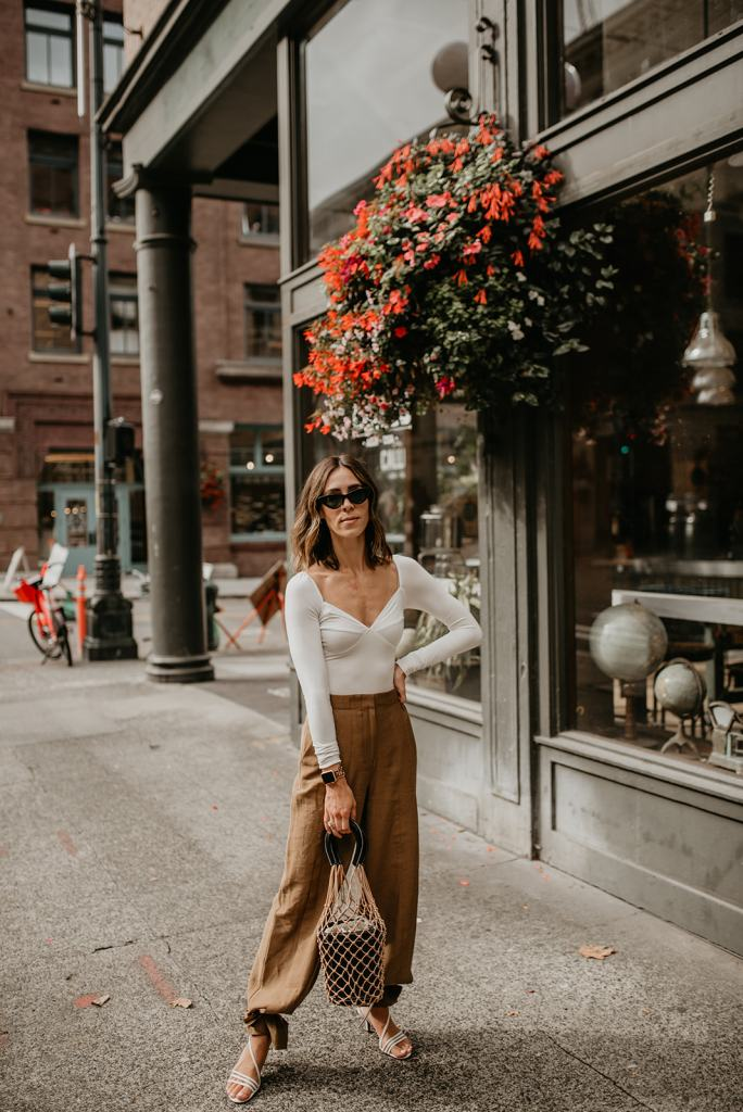 Seattle Fashion, Pioneer Square, Callus, Reformation Bodysuit, Fall Fashion, Fall Outfit