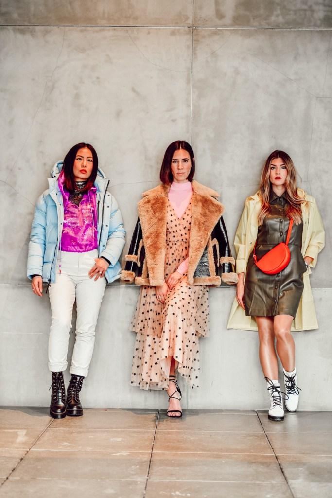 Seattle Stylelogue bloggers wearing winter brights