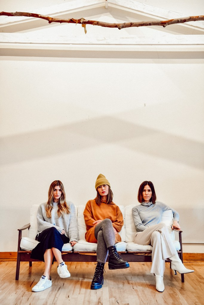Bloggers from Seattle Stylelogue wearing Naadam Knitwear
