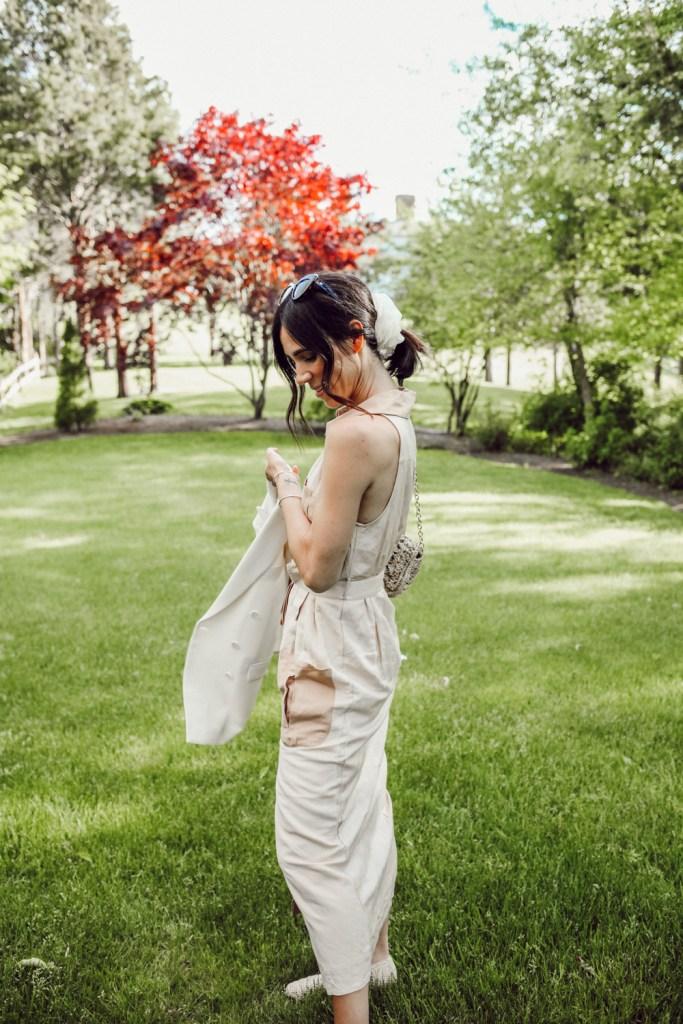 Sportsanista wearing Steele Women's Keegan Dress with Miista Raffa Shoes