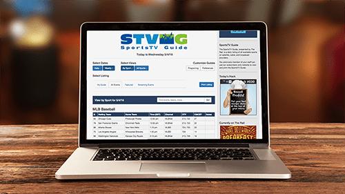SportsTV Guide desktop app for sports bars