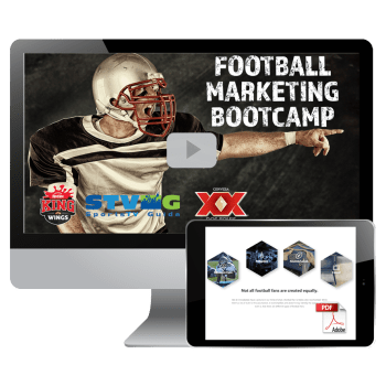 Preview of the 2017 Football Marketing Bootcamp for sports bars & restaurats