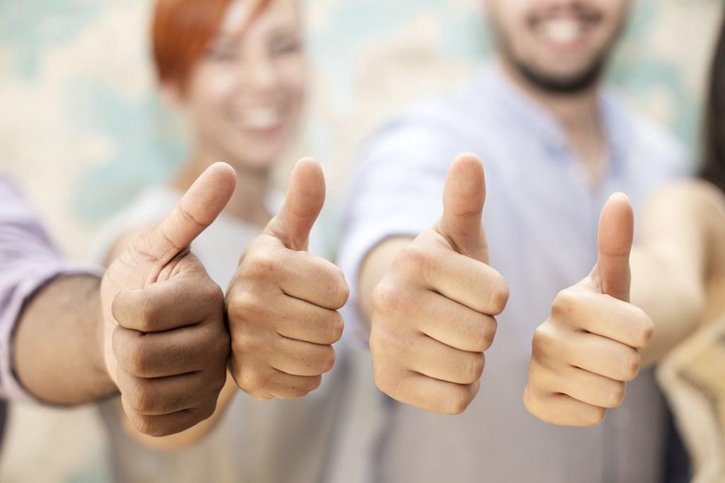 Team Thumbs Up