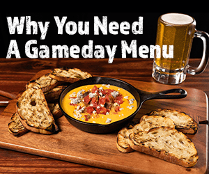 Gameday Menu Teaser