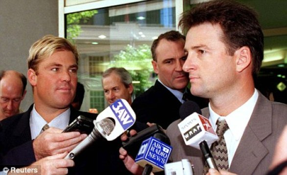 Shane Warne and Mark Waugh spot fixing