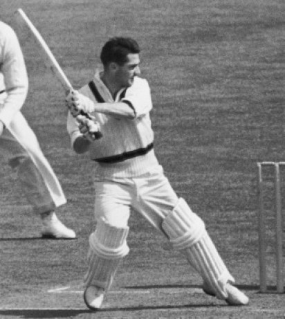 Neil Harvey left-handed