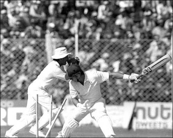 World Cup 1987 Australia vs India Group Stage Match