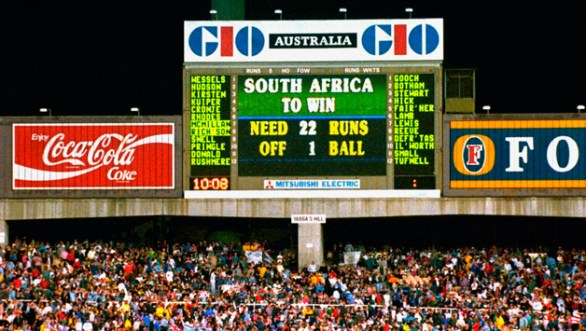 World Cup 1992 South Africa vs England Semi-Final