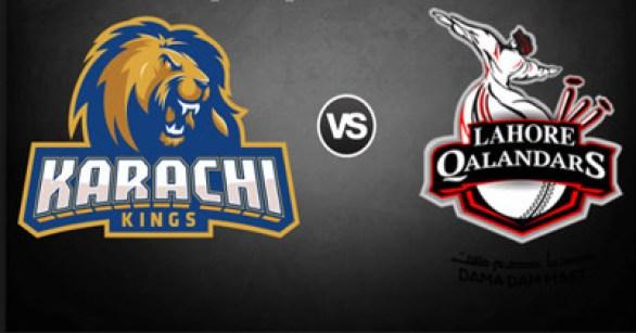 PSL 2016 12th Match, Karachi Kings vs Lahore Qalandars [Video Highlights]
