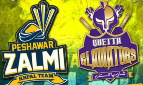 PSL 2016 17th Match, Quetta Gladiators vs Peshawar Zalmi