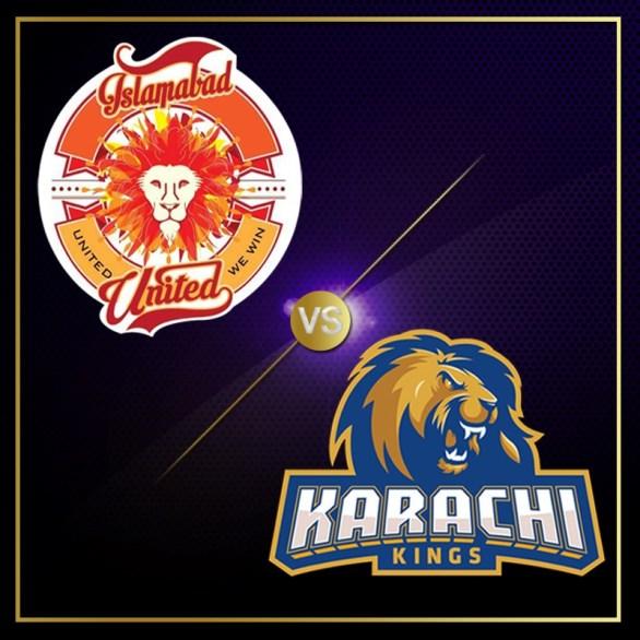 PSL 2016 6th Match, Islamabad United vs Karachi Kings [Video Highlights]
