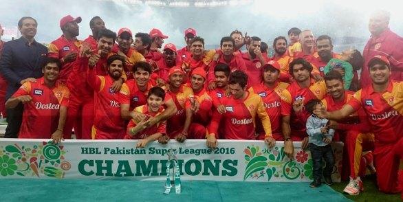PSL 2016 Champions