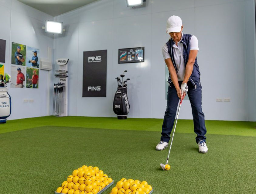 How to get better at GOLF at HOME