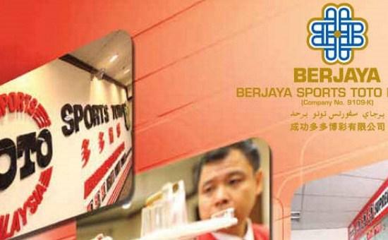 Berjaya Sports Toto Gets Higher Earning in Q3
