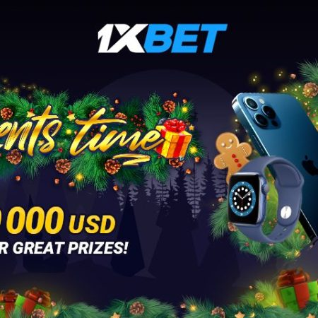 $10,000 and hundreds of cool gadgets: it's Presents Time at 1xBet!