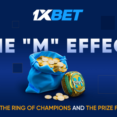 1xBet has launched a cool new promotion – M EFFECT