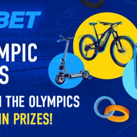 Bet on the Tokyo Olympics and win prizes with 1xBet!